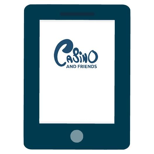 CasinoAndFriends - Mobile friendly