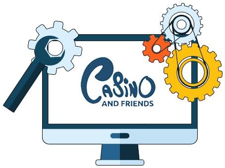 CasinoAndFriends - Software