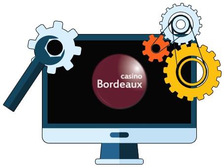 CasinoBordeaux - Software