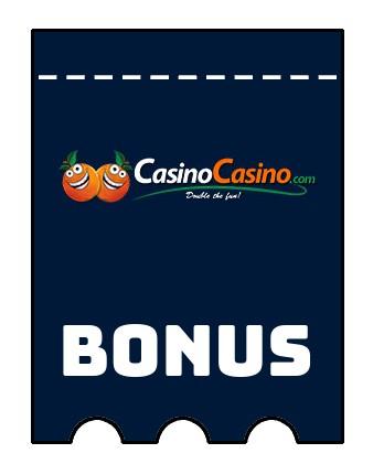 Latest bonus spins from CasinoCasino
