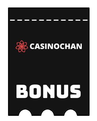 Latest bonus spins from CasinoChan