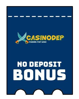 Casinodep - no deposit bonus CR
