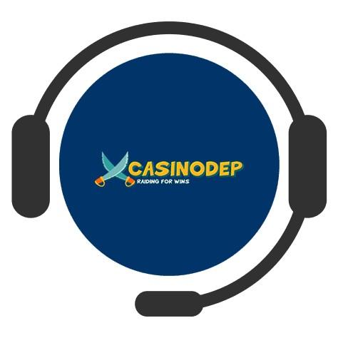 Casinodep - Support