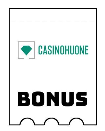 Latest bonus spins from Casinohuone