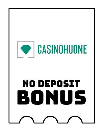 Casinohuone - no deposit bonus CR
