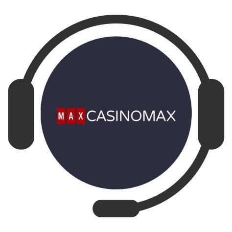 CasinoMax - Support