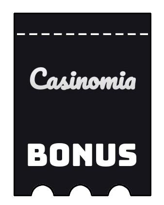 Latest bonus spins from Casinomia