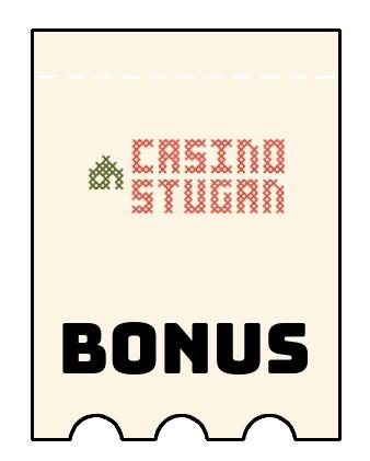 Latest bonus spins from CasinoStugan