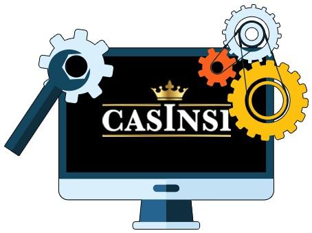 Casinsi Casino - Software