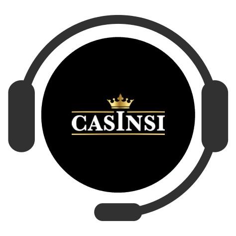 Casinsi Casino - Support