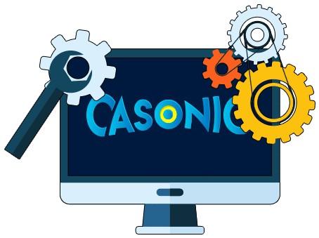 Casonic Casino - Software