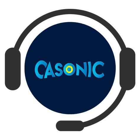 Casonic Casino - Support