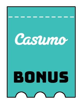 Latest bonus spins from Casumo