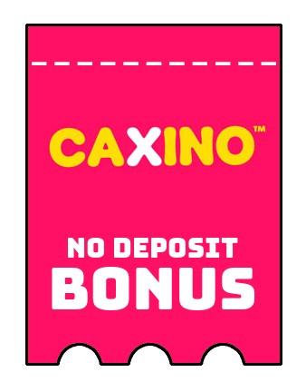 Caxino - no deposit bonus CR