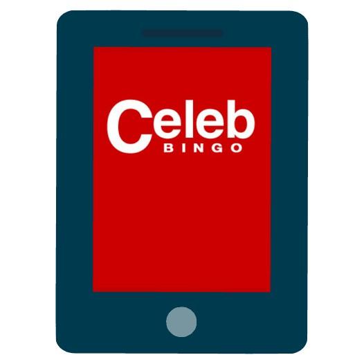 Celeb Bingo Casino - Mobile friendly