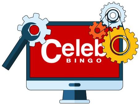 Celeb Bingo Casino - Software
