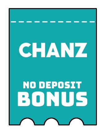 Chanz Casino - no deposit bonus CR
