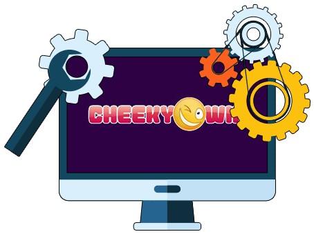 Cheeky Win Casino - Software