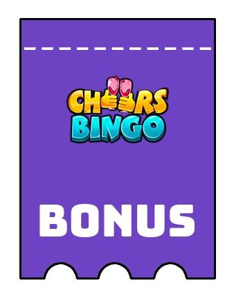 Latest bonus spins from Cheers Bingo