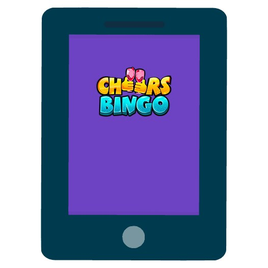 Cheers Bingo - Mobile friendly