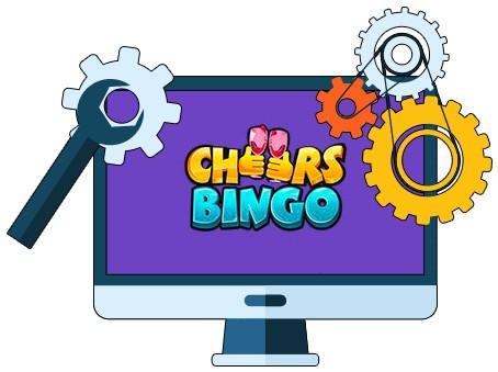 Cheers Bingo - Software
