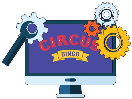 Circus Bingo Casino - Software