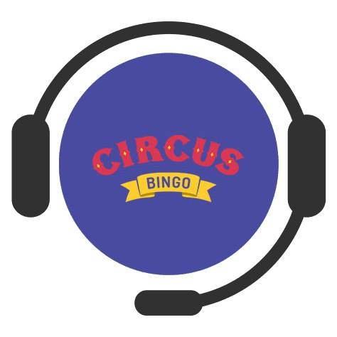 Circus Bingo Casino - Support