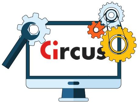 Circus Casino - Software