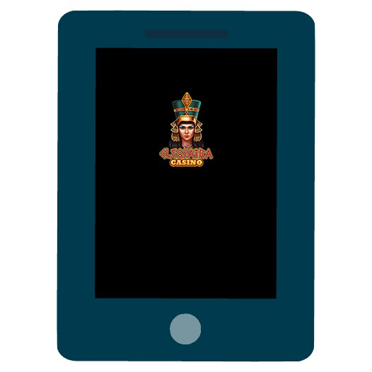 Cleopatra Casino - Mobile friendly