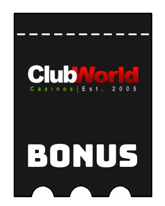 Latest bonus spins from Club World Casino