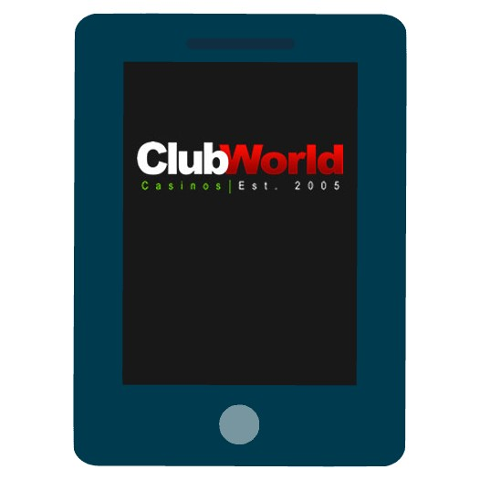 Club World Casino - Mobile friendly