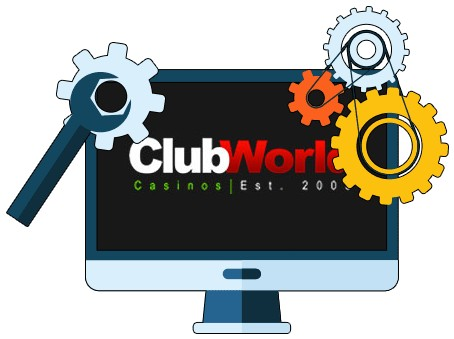 Club World Casino - Software