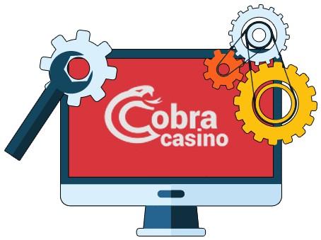 Cobra Casino - Software