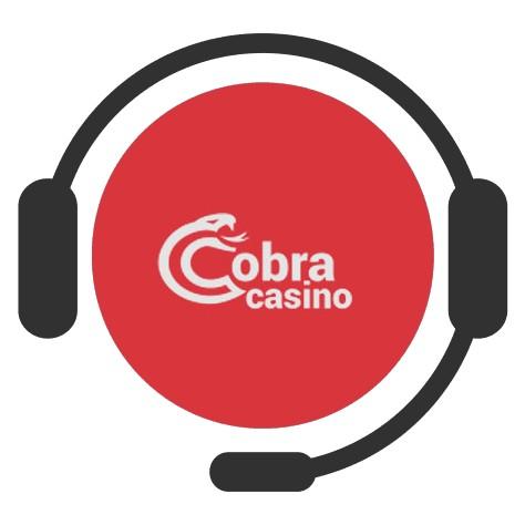 Cobra Casino - Support