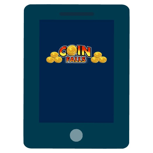 CoinFalls Casino - Mobile friendly