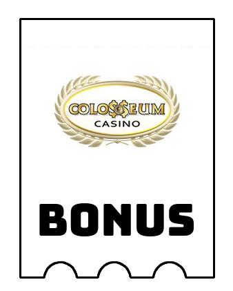 Latest bonus spins from Colosseum Casino