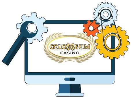 Colosseum Casino - Software