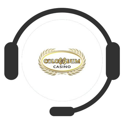 Colosseum Casino - Support
