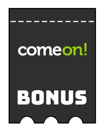 Latest bonus spins from Comeon Casino