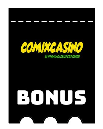 Latest bonus spins from Comix Casino