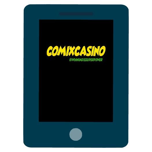 Comix Casino - Mobile friendly