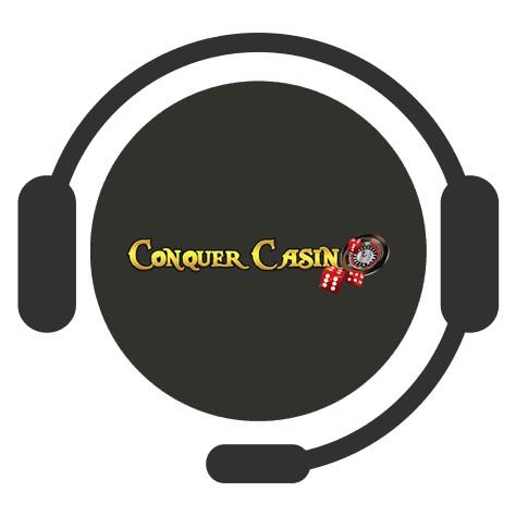 Conquer Casino - Support