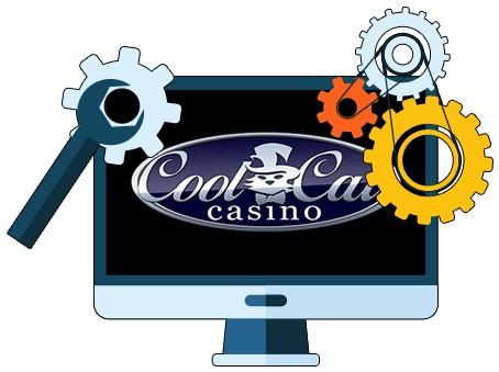 CoolCat Casino - Software