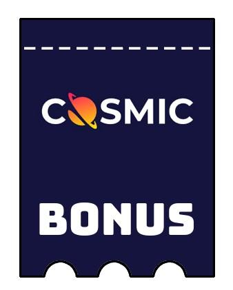 Latest bonus spins from CosmicSlot
