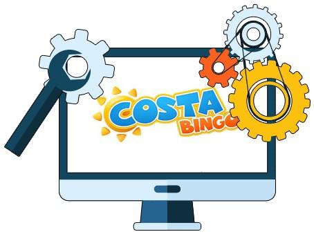 Costa Bingo - Software