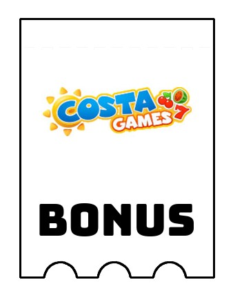 Latest bonus spins from Costa Games