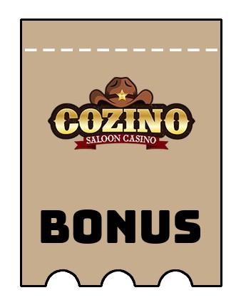 Latest bonus spins from Cozino Casino