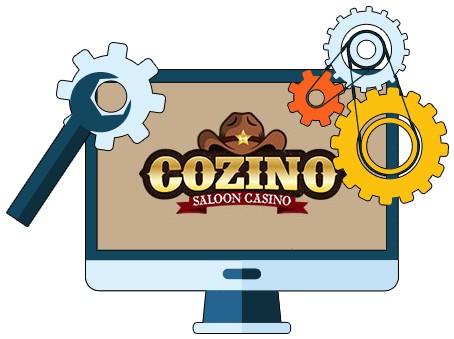Cozino Casino - Software