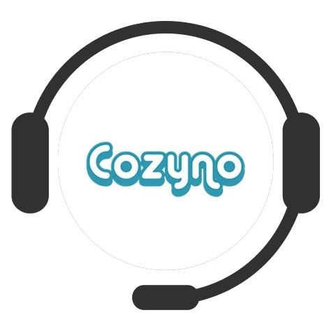 Cozyno Casino - Support