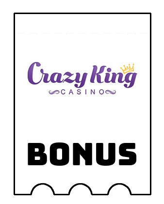 Latest bonus spins from Crazy King